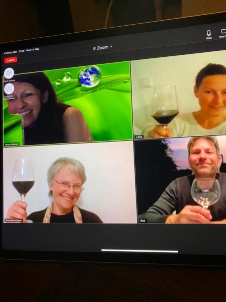 Online Tasting für Käse & Wein