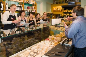 Neugründung von Käsefachgeschäften