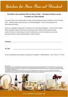 Gutschein für Ihren Käse und Weinabend in München