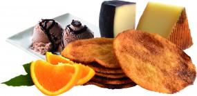 Orangen-Olivenöl Tortas